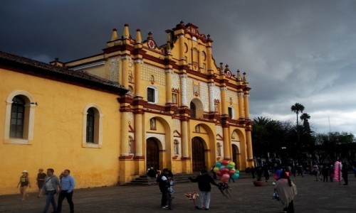 Zdjęcie MEKSYK / Chiapas / San Cristóbal de las Casas / Katedra