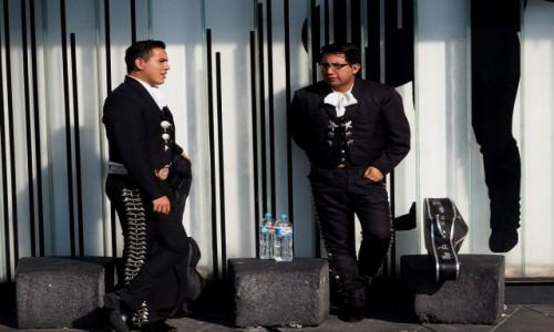 Zdjęcie MEKSYK / Mexio City / Plaza Garibaldi / El Mariachi