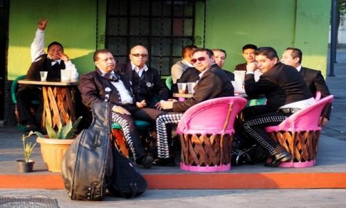 Zdjęcie MEKSYK / Mexico City / Plaza Garibald / Przerwa w graniu