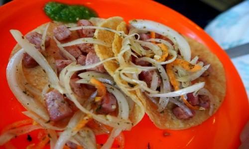 Zdjęcie MEKSYK / Mexico City / Mexico City / Tacos z tuńczykiem