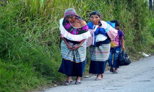 Zdjęcie MEKSYK / Chaipas / w drodze do San Cristóbal de las Casas / Kobiety ze stanu Chiapas