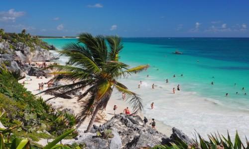 Zdjecie MEKSYK / Jukatan / Tulum / Plaże Jukatanu