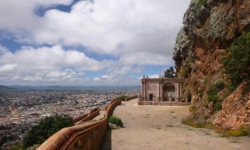 MEKSYK / Zacatecas / Zacatecas / Widok z Bufa