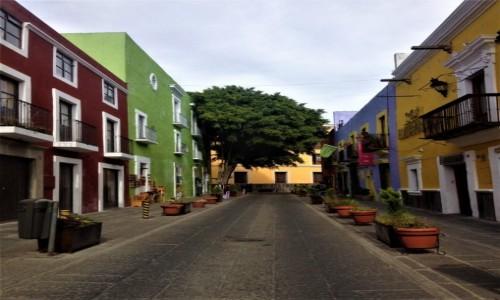 Zdjecie MEKSYK / Puebla / Puebla / Malownicze Uliczki Puebla, Meksyk
