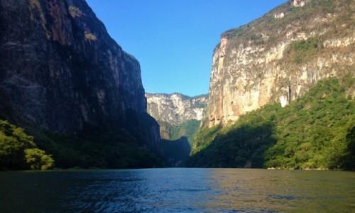 Zdjęcie MEKSYK / Chiapas / Kanion Sumidero / Kanion Sumidero, Chiapas