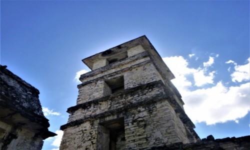 Zdjecie MEKSYK / Chiapas / Palenque / Wieża Majów