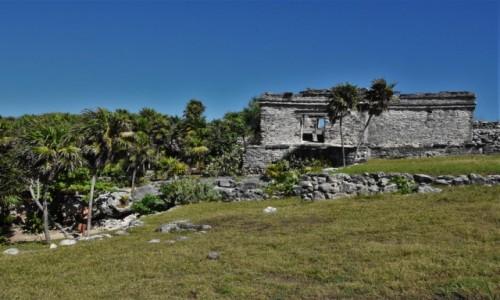Zdjęcie MEKSYK / Jukatan / Tulum / Tulum, pozostałości kultury Majów