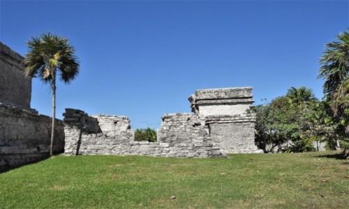 Zdjecie MEKSYK / Jukatan / Tulum / Tulum, pozostałości kultury Majów