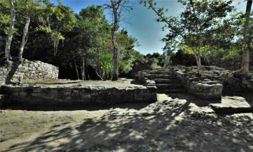 Zdjęcie MEKSYK / Jukatan / Coba / Coba, dziedzictwo Majów