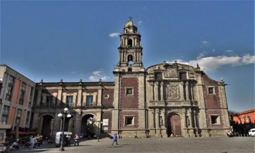 Zdjęcie MEKSYK / Stolica / Mexico City / Mexico City, kościół Santo Domingo