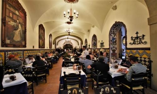 Zdjęcie MEKSYK / Stolica / Mexico City / Mexico City, piękna restauracja