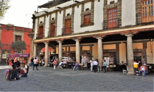 Zdjęcie MEKSYK / Stolica / Mexico City / Mexico City, plac Santo Domingo