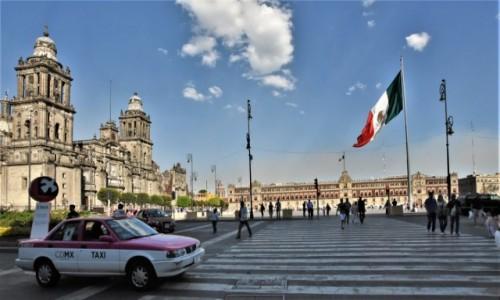 Zdjęcie MEKSYK / Stolica / Mexico City / Mexico City, panorama