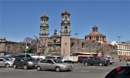 Zdjęcie MEKSYK / Stolica / Mexico City / Mexico City, Iglesia de San Hipolito y San Casiano