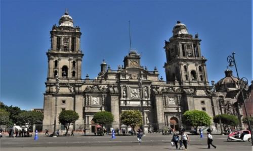 Zdjecie MEKSYK / Stolica / Mexico City / Mexico City, katerda