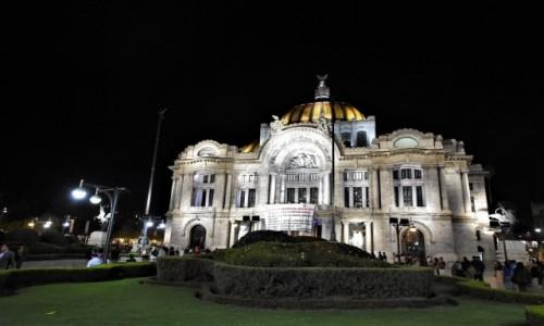 Zdjęcie MEKSYK / Stolica / Mexico City / Mexico City, Palacio de Bellas Artes