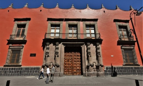 Zdjecie MEKSYK / Stolica / Mexico City / Mexico City, dawny pałac biskupa