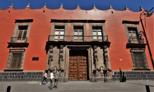 MEKSYK / Stolica / Mexico City / Mexico City, dawny pałac biskupa