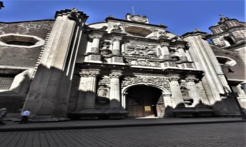 MEKSYK / Stolica / Mexico City / Mexico City, kościół św. Filipa Neri