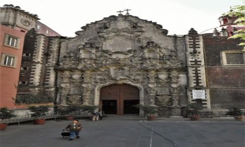 MEKSYK / Stolica / Mexico City / Mexico City, kościół franciszkanów