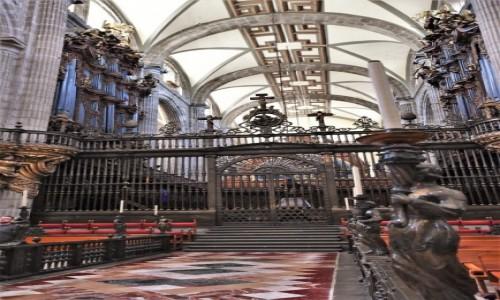 Zdjecie MEKSYK / Stolica / Mexico City / Mexico City, katedra