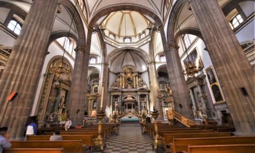 Zdjecie MEKSYK / Stolica / Mexico City / Mexico City, kościół św. Filipa Neri