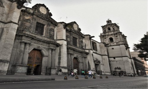 Zdjęcie MEKSYK / Stolica / Mexico City / Mexico City, Templo de la Inmaculada Concepcion