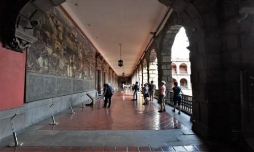 Zdjecie MEKSYK / Stolica / Mexico City / Mexico City, Palacio Nacional