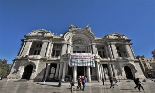 Zdjecie MEKSYK / Stolica / Mexico City / Mexico City, katedraPalacio de Bellas Artes