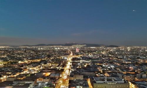 Zdjecie MEKSYK / Stolica / Mexico City / Mexico City, zachód słońca nad Meksykiem
