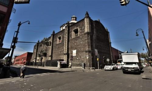 Zdjecie MEKSYK / Stolica / Mexico City / Mexico City, kościół de San Lorenzo