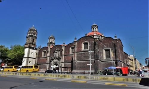 Zdjecie MEKSYK / Stolica / Mexico City / Mexico City, Iglesia de la Santa Veracruz