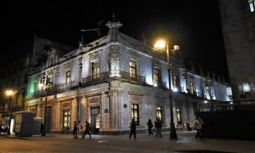 MEKSYK / Stolica / Mexico City / Mexico City, Casa de los Azulejos