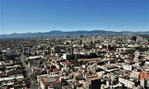 MEKSYK / Stolica / Mexico City / Mexico City, panorama