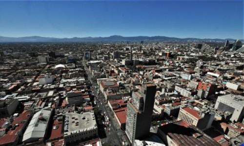 Zdjecie MEKSYK / Stolica / Mexico City / Mexico City, panorama