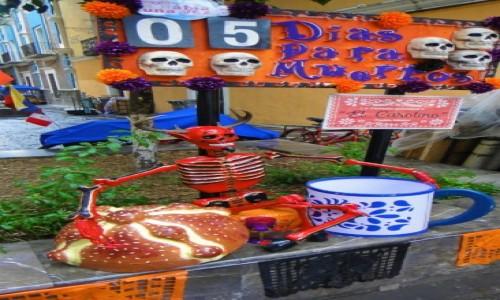 Zdjecie MEKSYK / Puebla / Puebla / Święto zmarłych w Meksyku