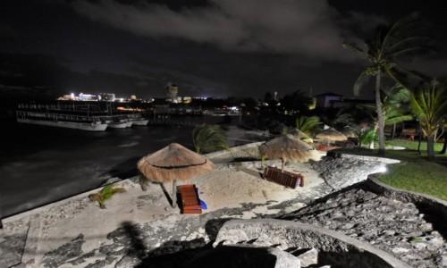 Zdjecie MEKSYK / Jukatan / Cancun / Cancun o świcie