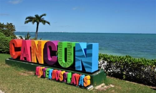 Zdjęcie MEKSYK / Jukatan / Cancun / Promocja częsta w Meksyku.