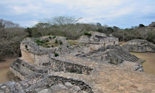 MEKSYK / Jukatan / Ek Balam / ruiny Majów...