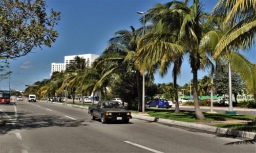 Zdjecie MEKSYK / Jukatan / Cancun / Arterie komunikacyjne
