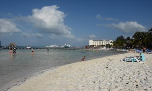 Zdjecie MEKSYK / Jukatan / Cancun / Plaża