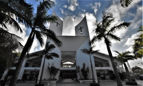 MEKSYK / Jukatan / Cancun / Cancun, kościół