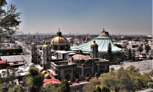 MEKSYK / Mexico City / Guadalupe / Guadalupe, sanktuarium