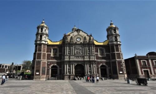 MEKSYK / Mexico City / Guadalupe / Guadalupe, najstarsza bazylika