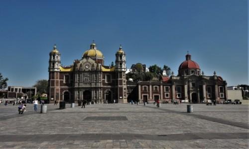 MEKSYK / Mexico City / Guadalupe / Guadalupe, najstarsza bazylika i kościół parafialny