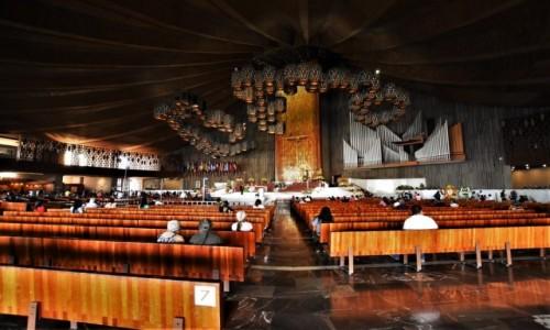 Zdjecie MEKSYK / Mexico City / Guadalupe / Guadalupe, nowa bazylika