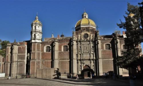 Zdjęcie MEKSYK / Mexico City / Guadalupe / Guadalupe, najstarsza bazylika