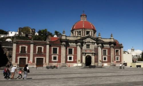 Zdjecie MEKSYK / Mexico City / Guadalupe / Guadalupe, kościół parafialny