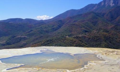 Zdjecie MEKSYK / Oaxaca / Hierve del Agua / Hierve del Agua - źródła termalne