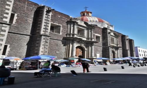 Zdjecie MEKSYK / Stolica / Mexico City / Mecico City, Templo de Santa Inés